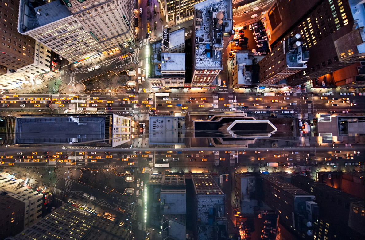 25 Perspective-Bending Photos of Big Cities from Above