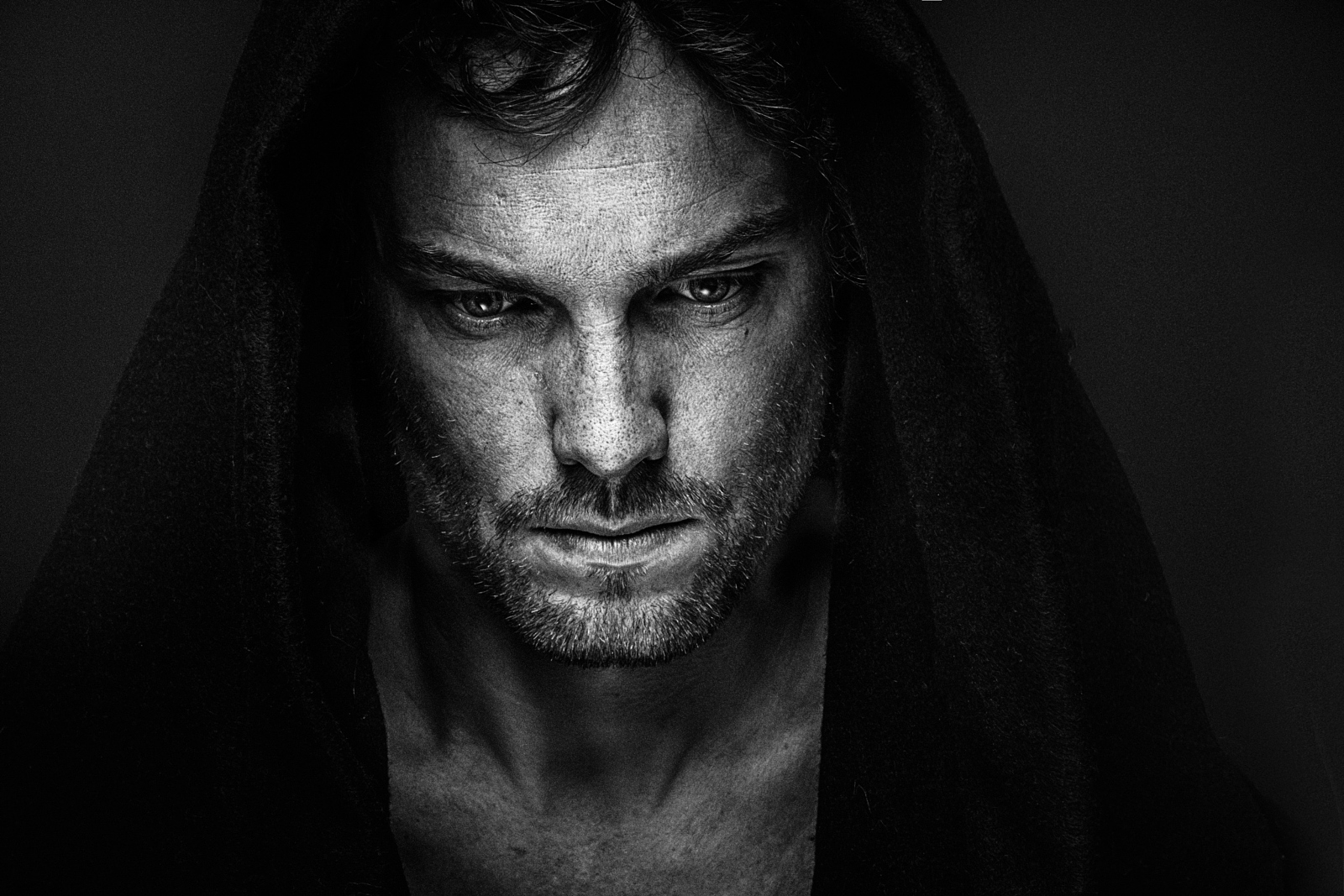 35 fantastic black and white portraits on 500px