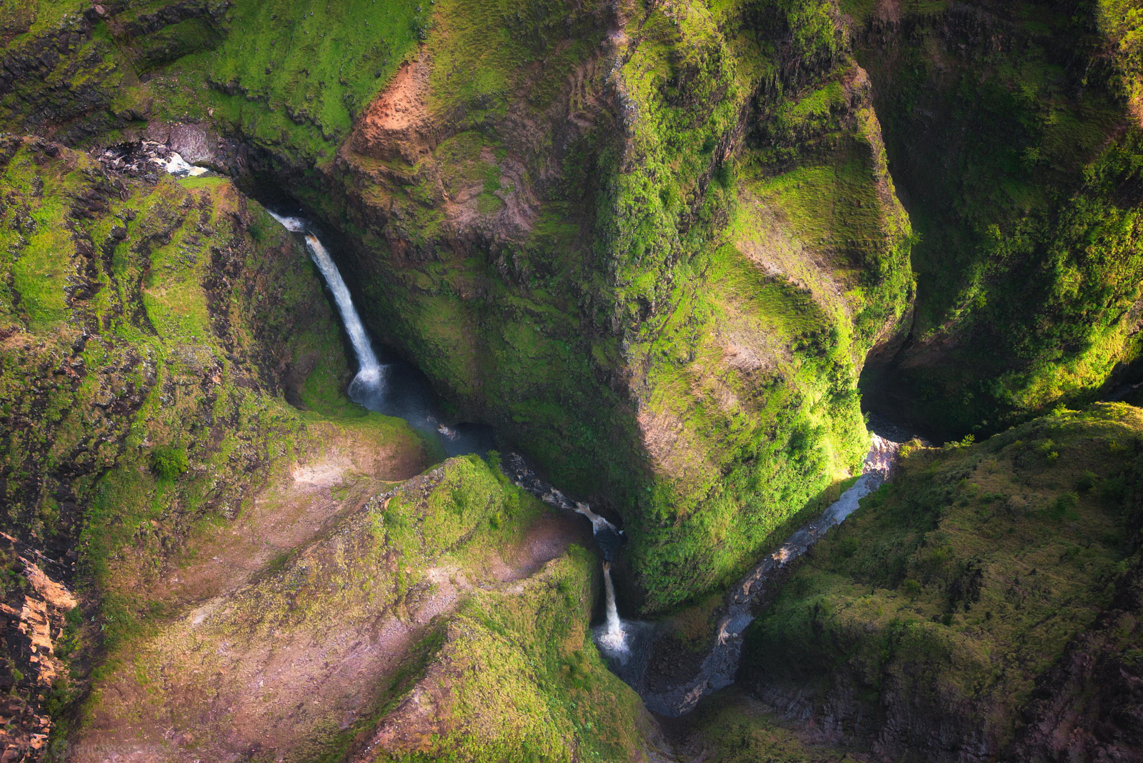 21 Photos that Prove Waterfalls Look Even Cooler from Above