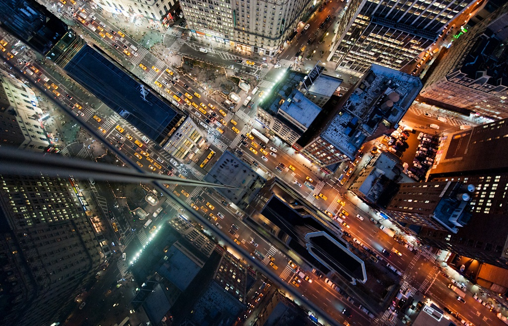 Captivating Photos of New York Intersections Shot from Above