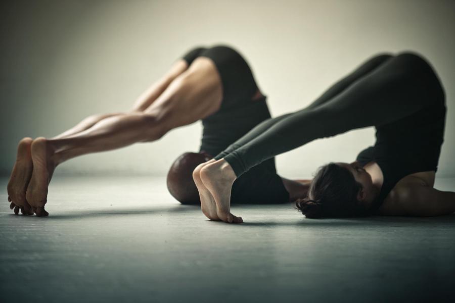 Tilt-shift Yoga