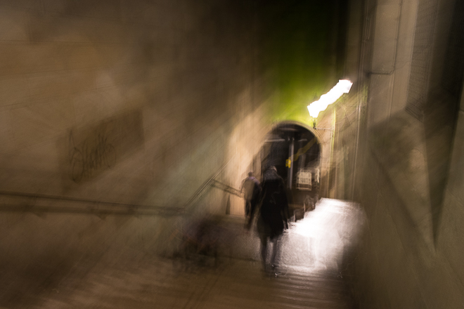 Abstract street photography -Descent