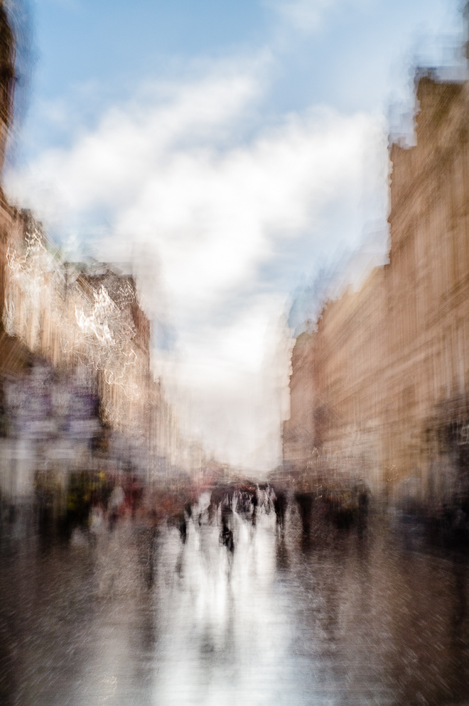 Abstract street photography -Buchanan Street