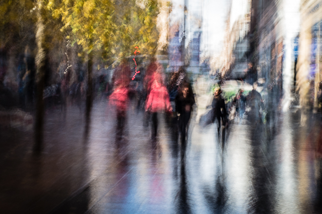 Abstract street photography -Street Impression