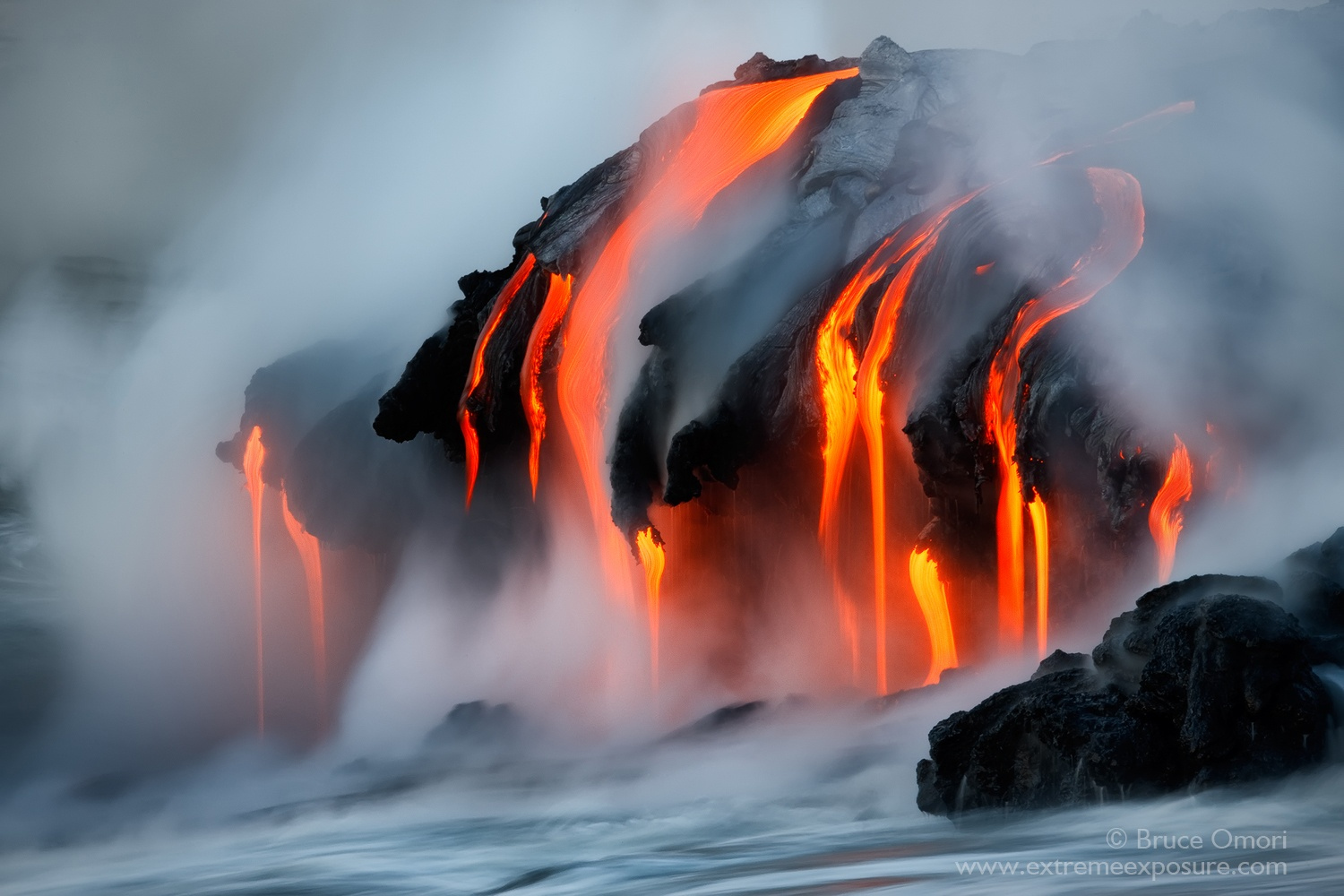 The Hottest Photos on 500px: 25 Fiery Lava Shots by Bruce Omori