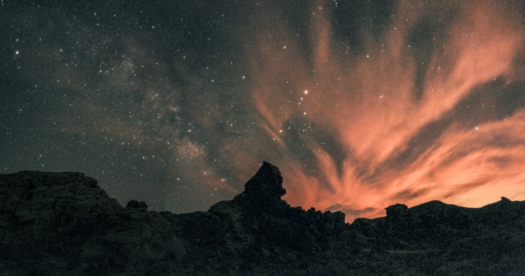 Milky Way from Valley of Fire, NV, OnePlus One, 32s, f/2, ISO 3200, Panorama Stitch of 6 jpegs
