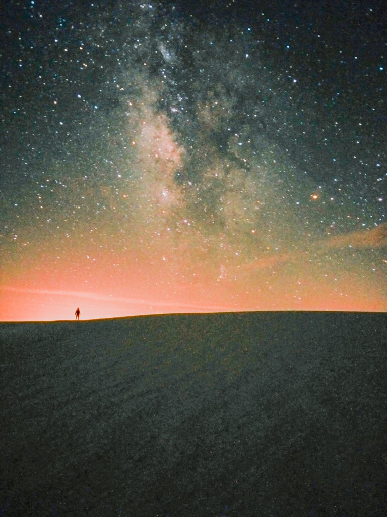 White Sands National Monument, NM, OnePlus One, 30s, f/2, ISO 3200, stack of 2 jpegs