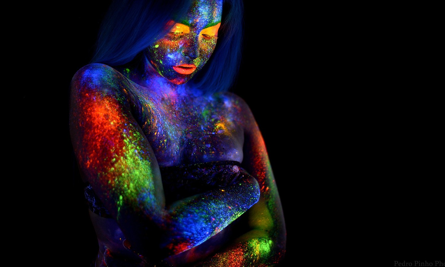 Photo Idea: Play Around with Ultraviolet Paint this Weekend