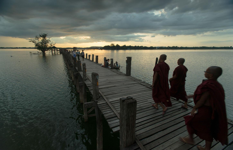 U Bein Bridge | Amarapura, Myanmar