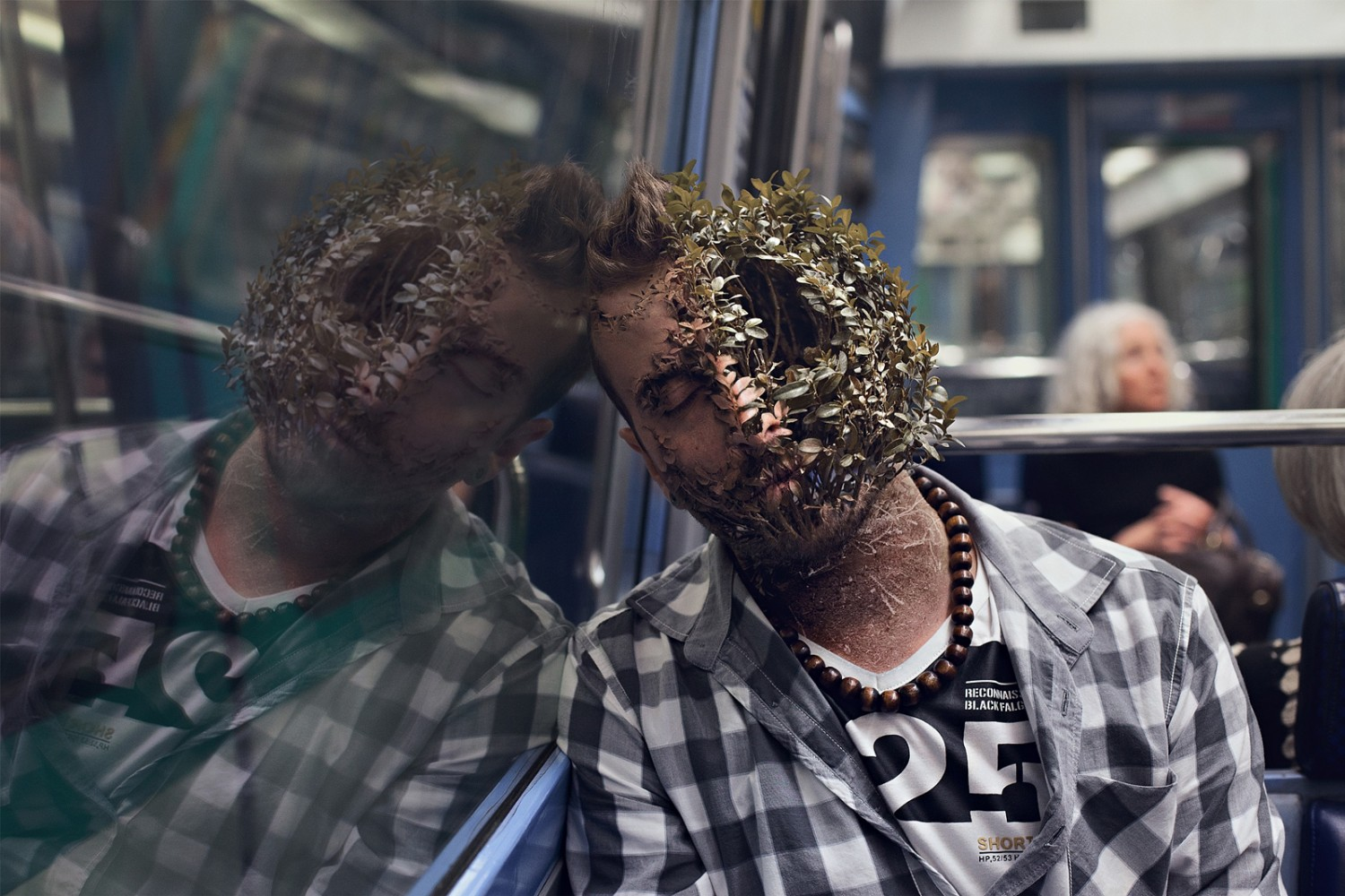 People Become Plants in These Intense Photo Manipulations