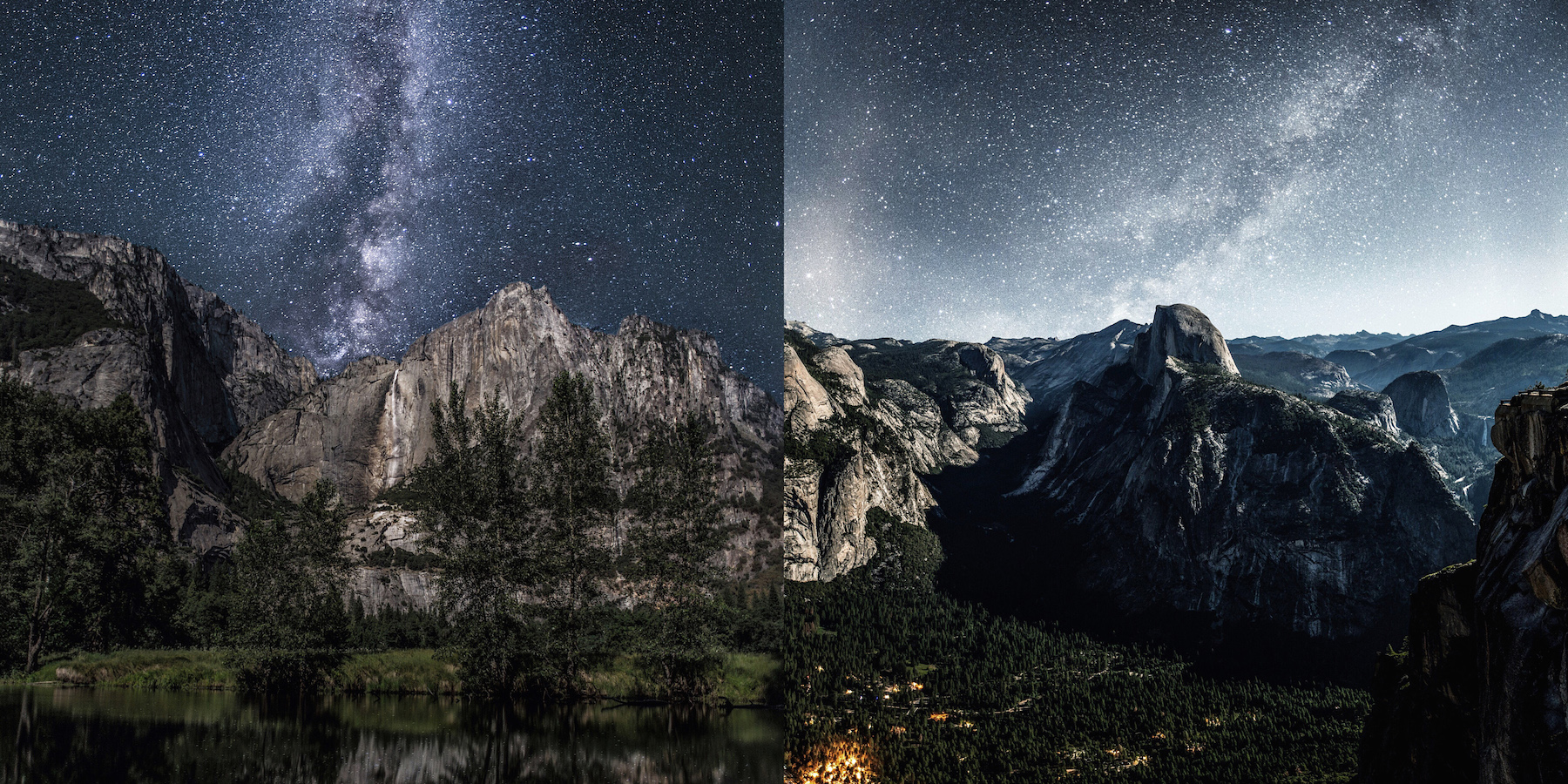 Breathtaking Photos of the Milky Way Over Yosemite