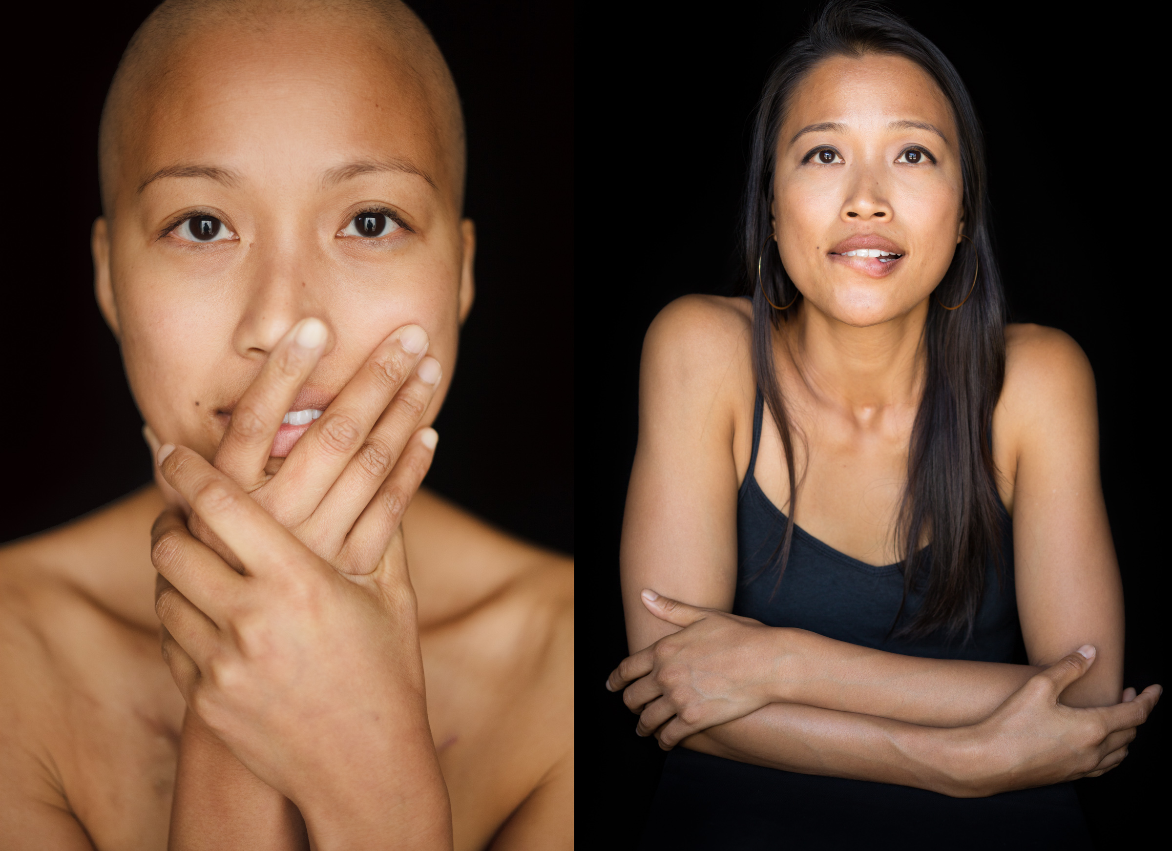 Facing Chemo: Moving Portraits of People Battling Cancer