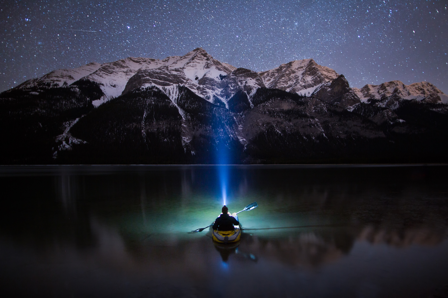 Reconnect with Nature Through the Breathtaking Self-Portraits of Paul Zizka