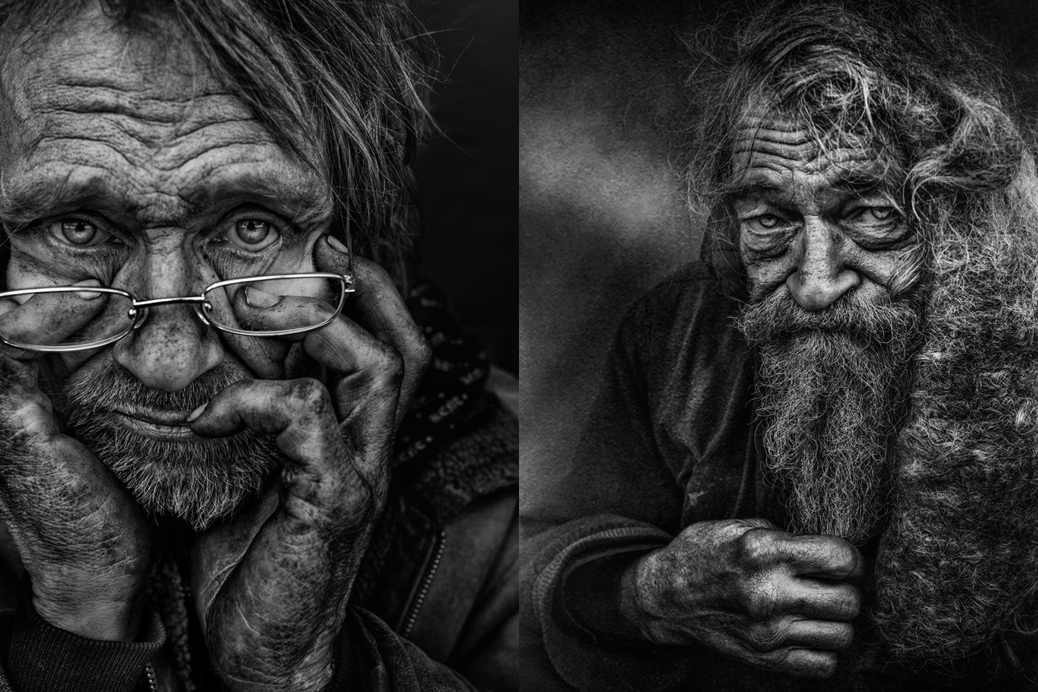 These Powerful Portraits are Raising Awareness and Aid for Sweden's Homeless