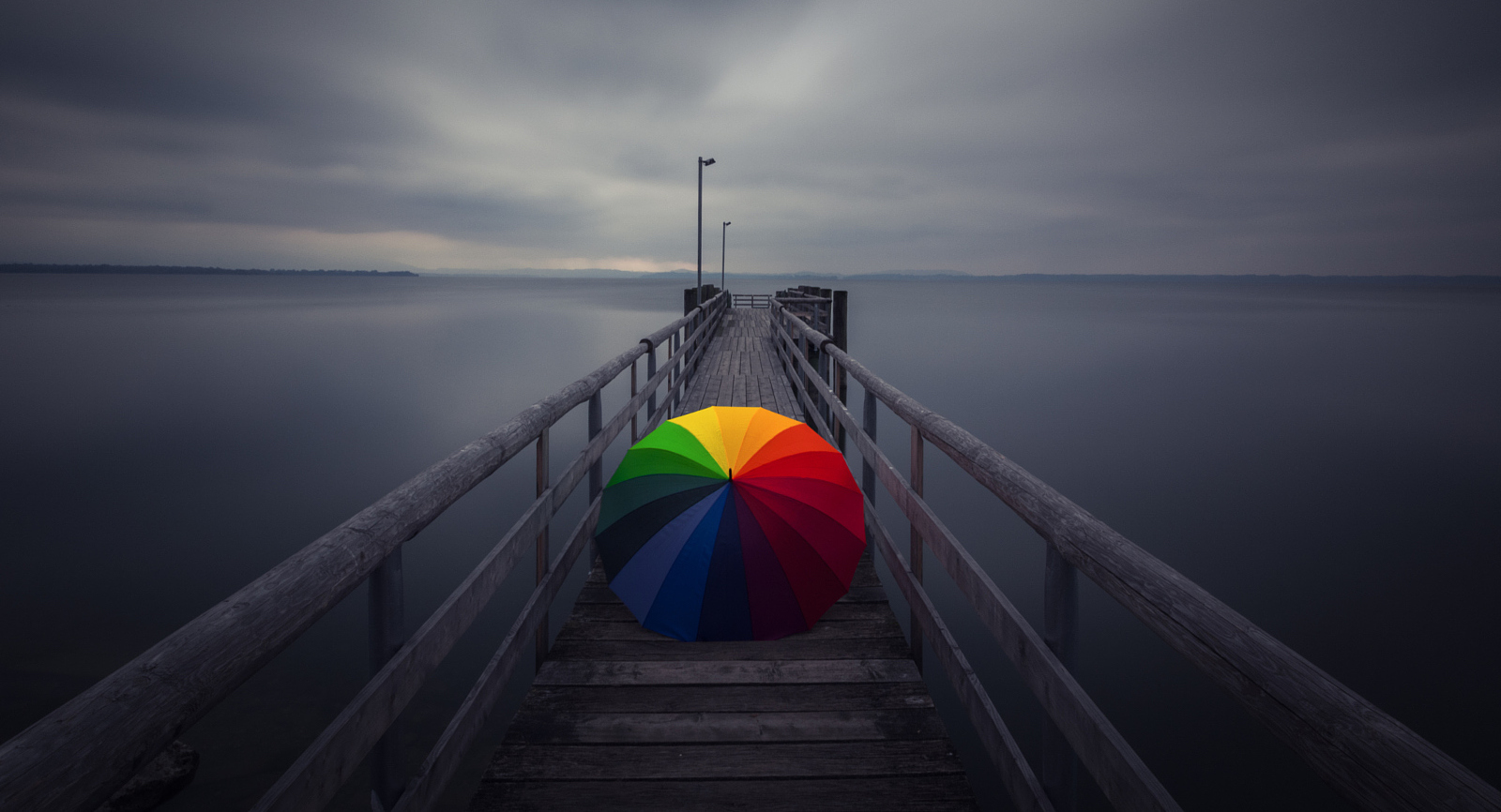 21 Times a Rainbow Umbrella Made a Normal Photo Awesome