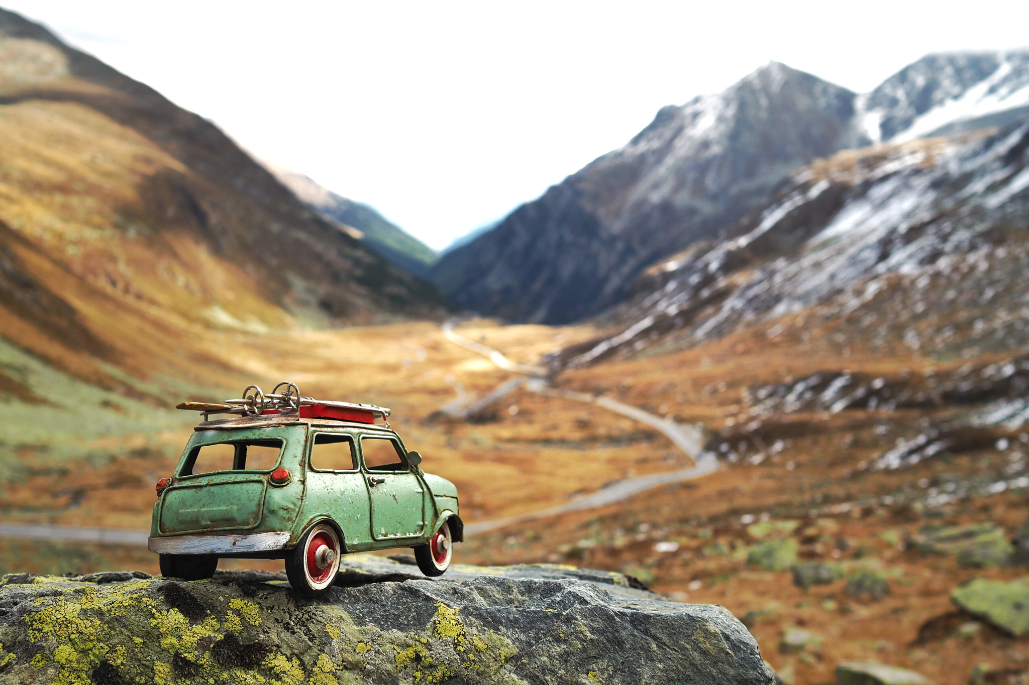 Exploring the World with Kim Leuenberger and Her Tiny Cars