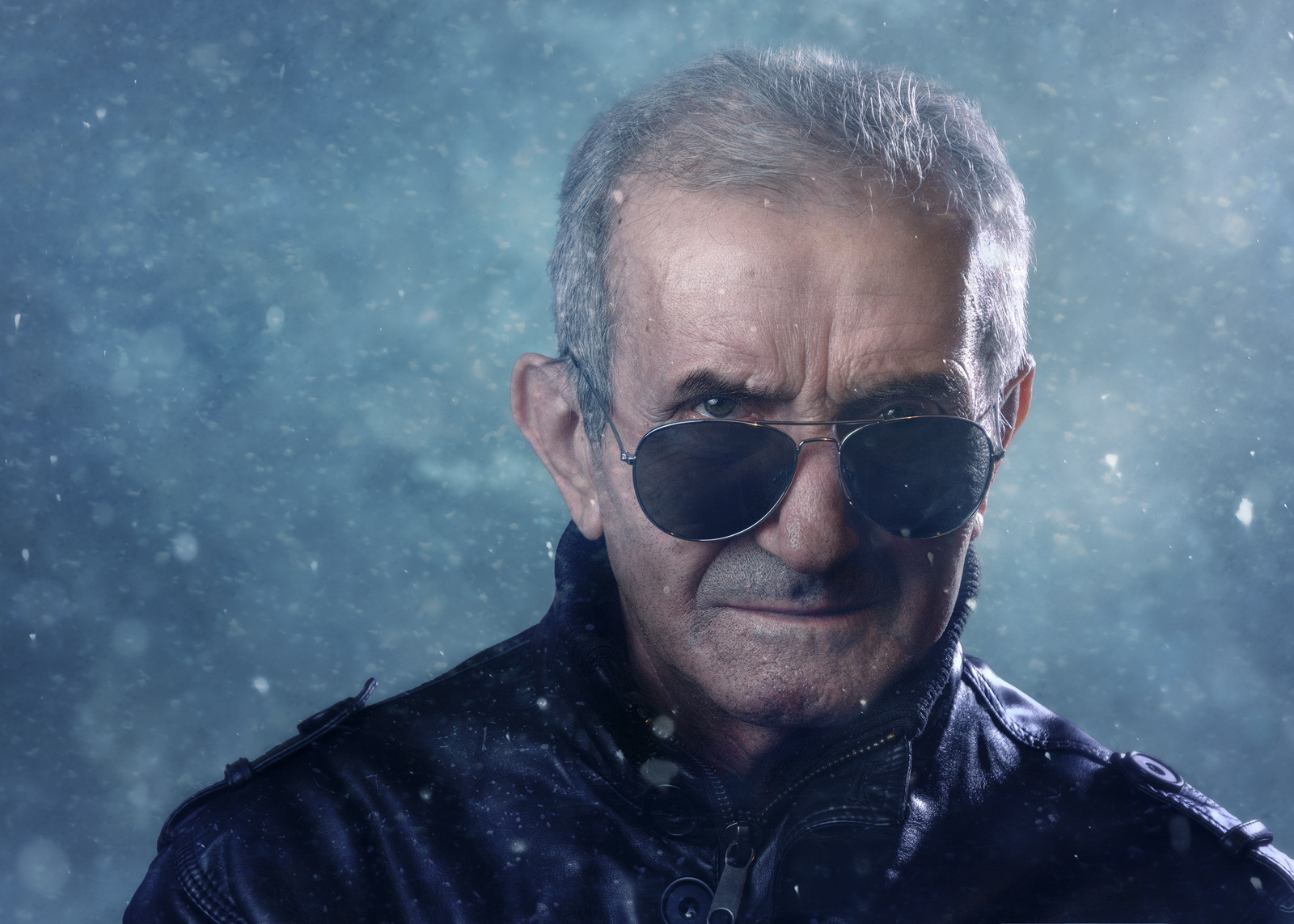 Photog Shoots a Badass Viral Portrait of His Badass Grandpa