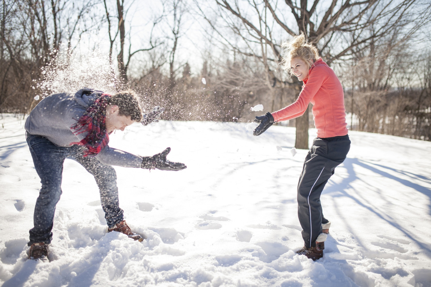 Simply Sellable: Why this Snowball Fight Photo Sells