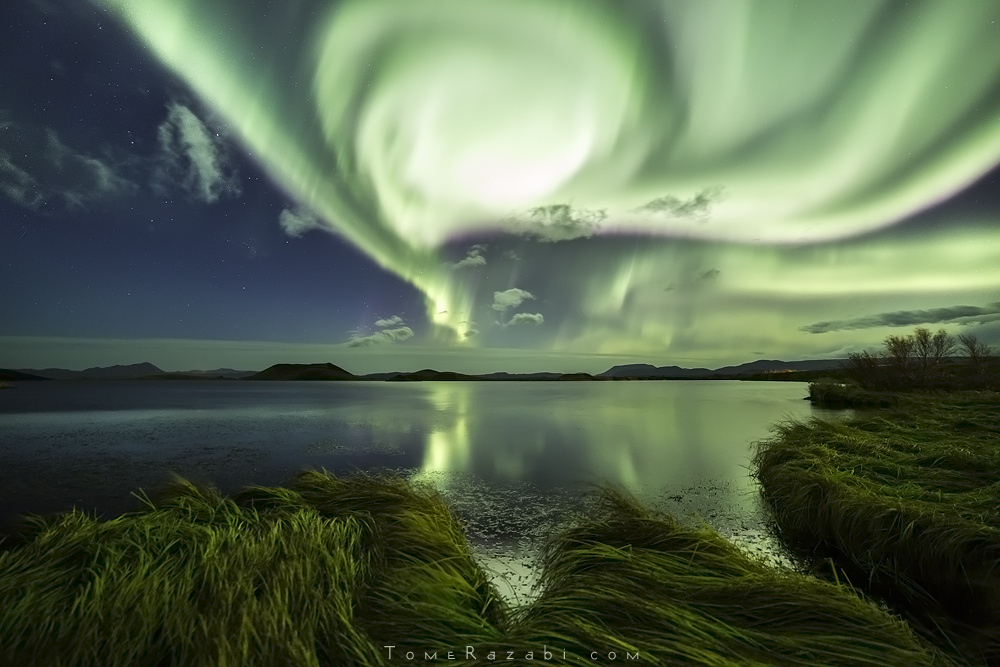 Capturing One of the Strongest Aurora Storm of 2015 in Iceland