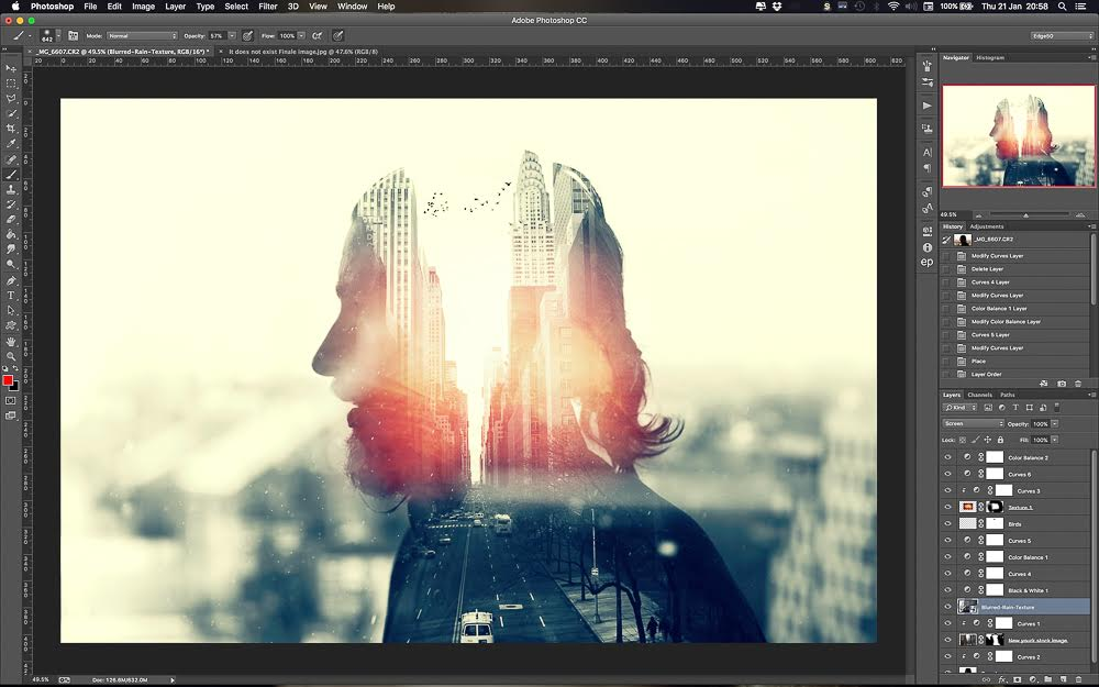 How to Create a Killer Multiple Exposure in Photoshop