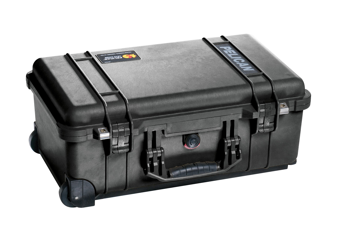 The Pelican 1510 is within the FAA maximum carry on size, so you don't have to check it in.