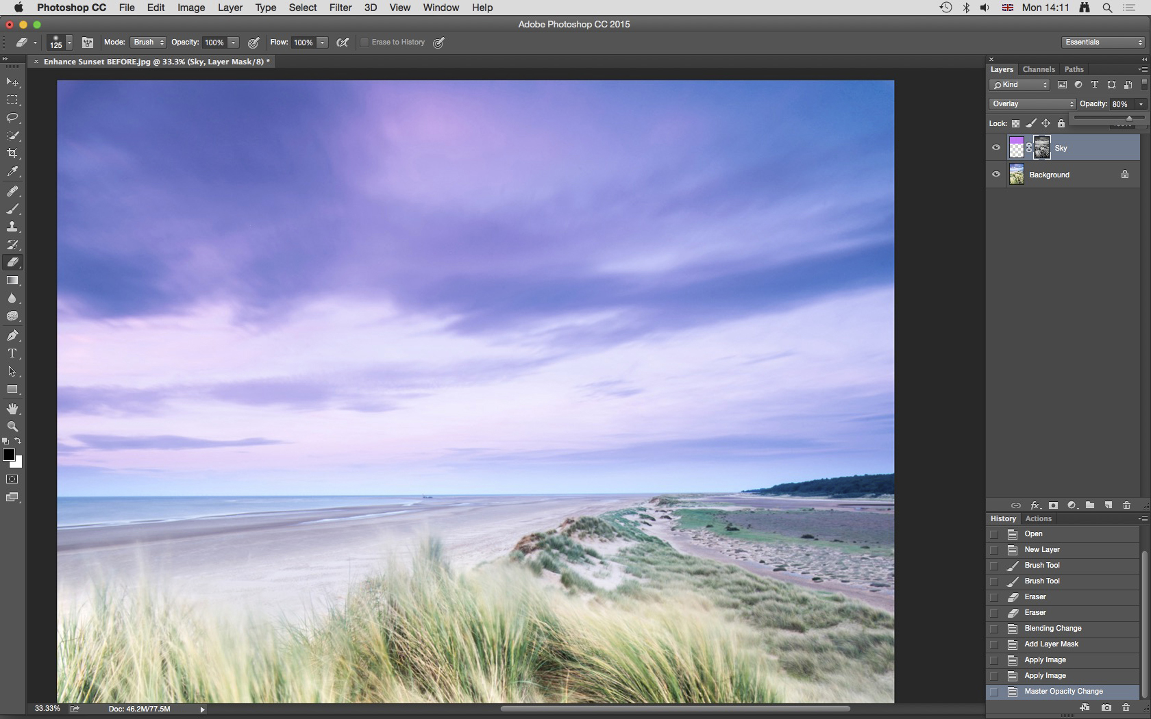 Photoshop Trick: Add a Burst of Color to Sunsets and Sunrises