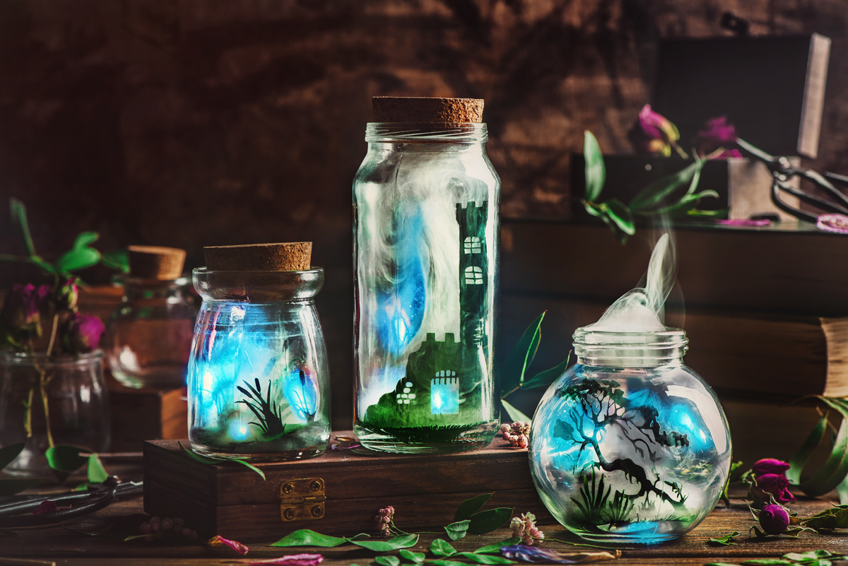 Tutorial: Put Your Dreams in a Jar... and Take a Picture