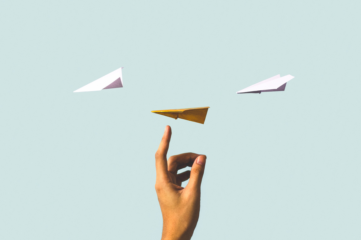 From Michelangelo to Paper Airplanes: Using Conceptual Images