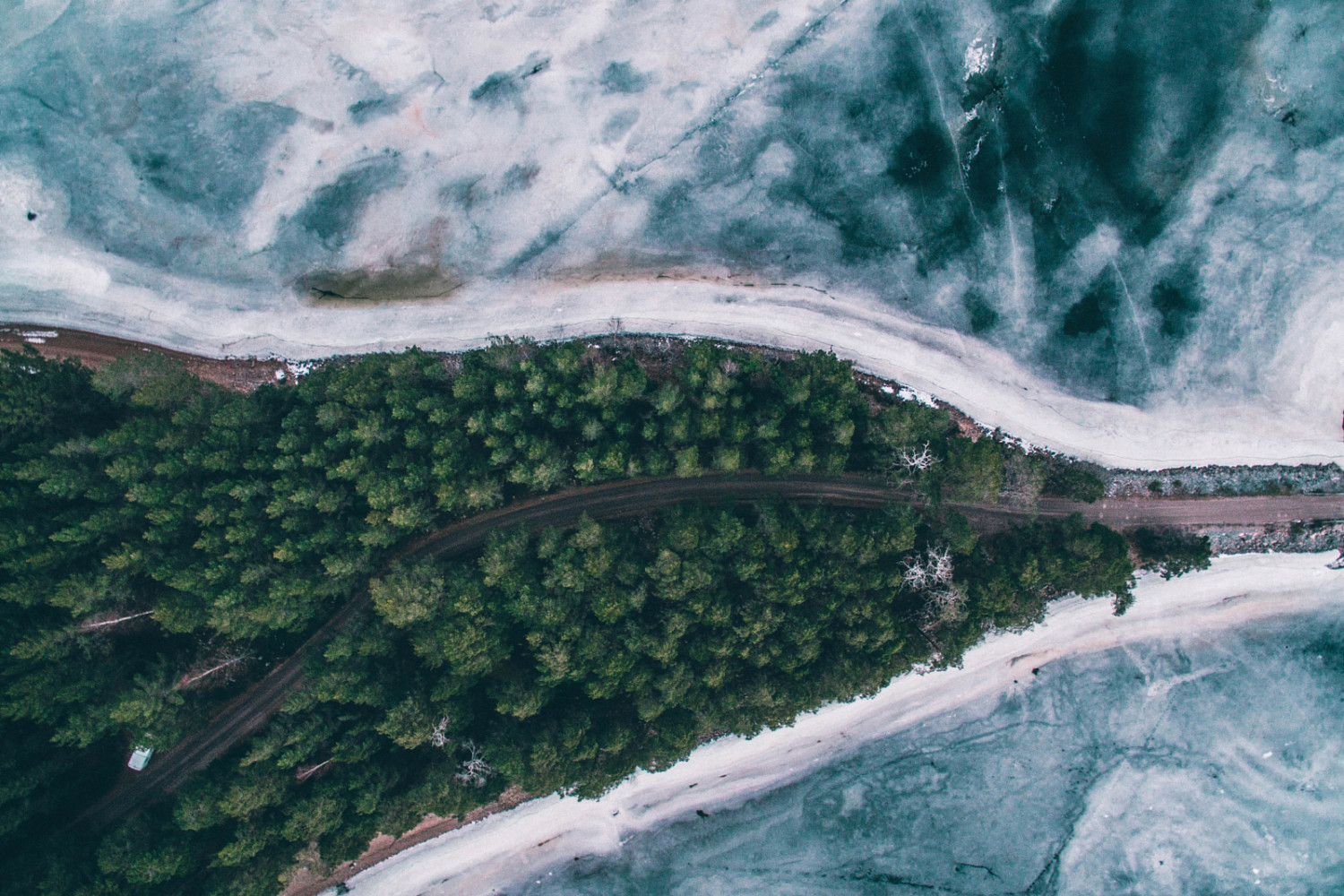 Nature from Above: Striking Aerial Photos by Tobias Hagg