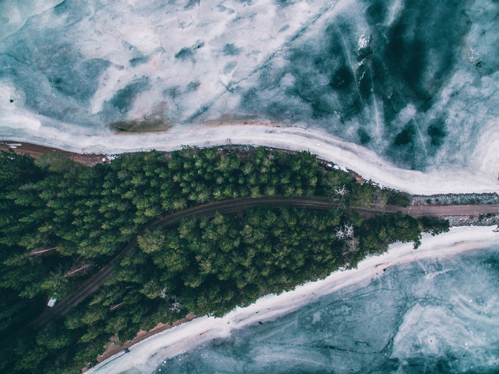 Home Feed Nature From Above Striking Aerial Photos