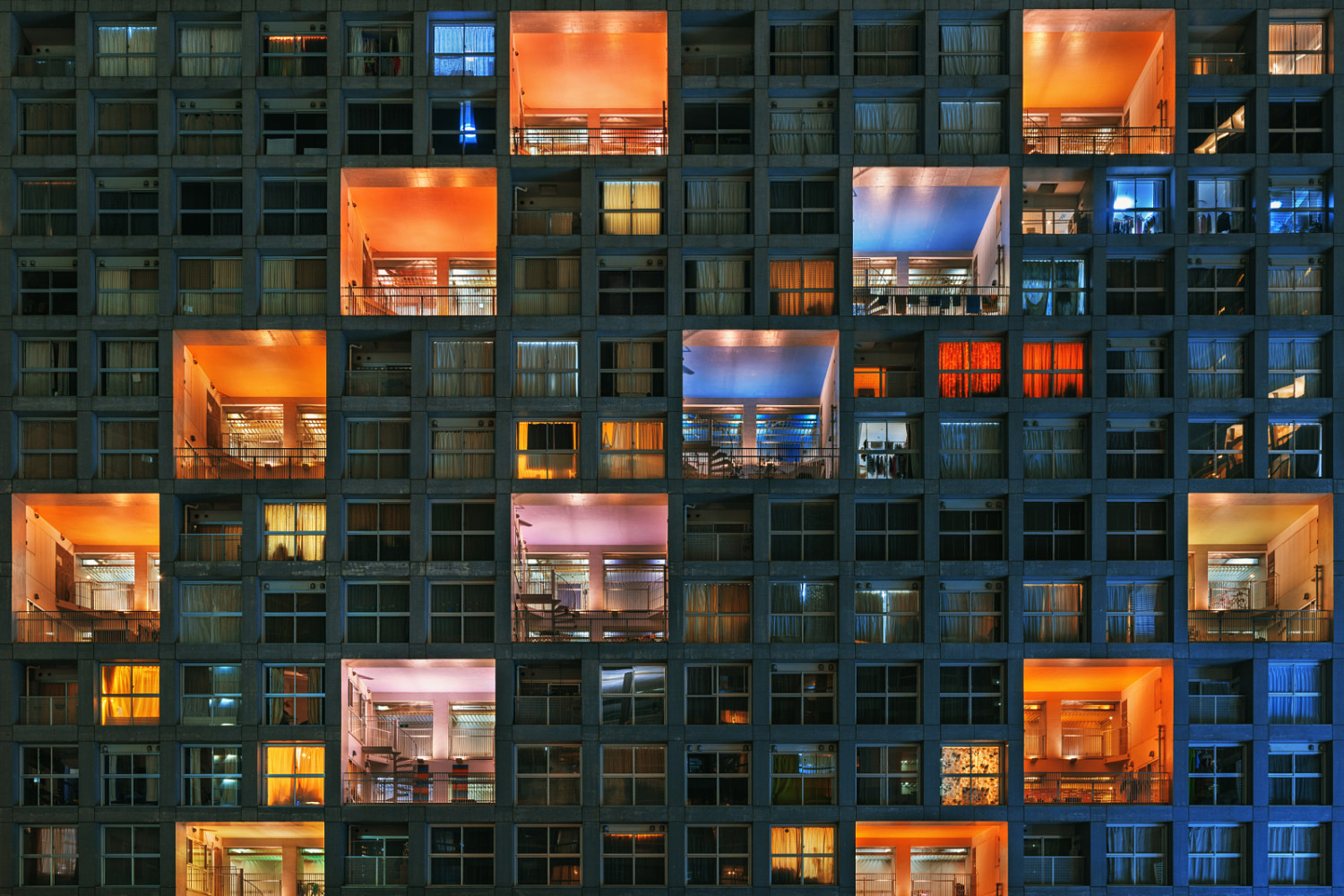 Creative and Colorful Abstract Architecture by Peter Stewart