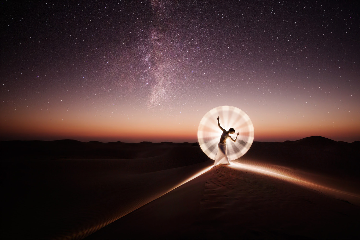 This Hypnotic New Video Reveals the Secrets of Light Painting