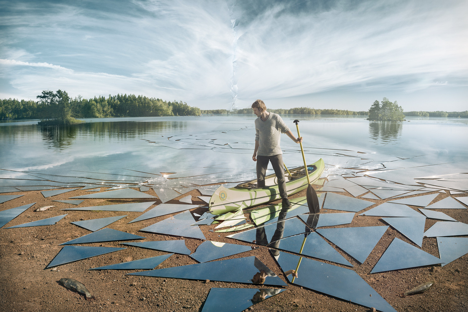 Photographer Shatters Reality With This Mind-Bending Image