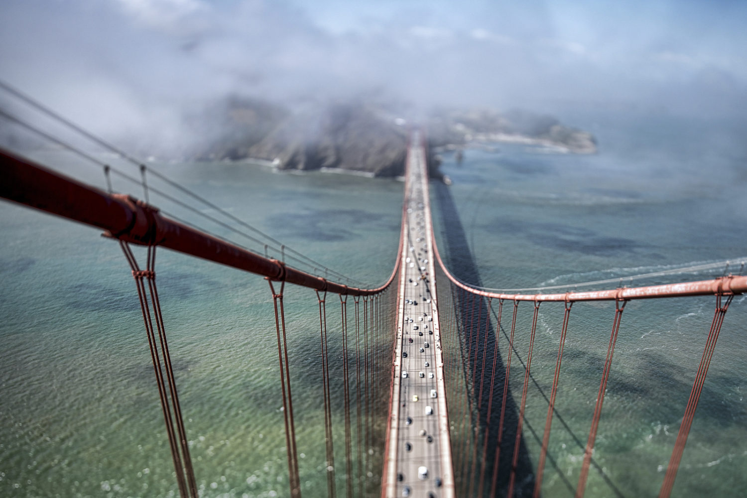 I Climbed To the Top of the Golden Gate Bridge To Get These Epic Photos