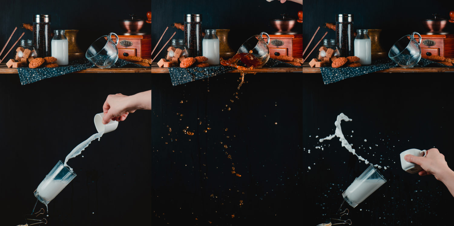 Splash Photo Tutorial: How To Capture Falling Cups of Liquid