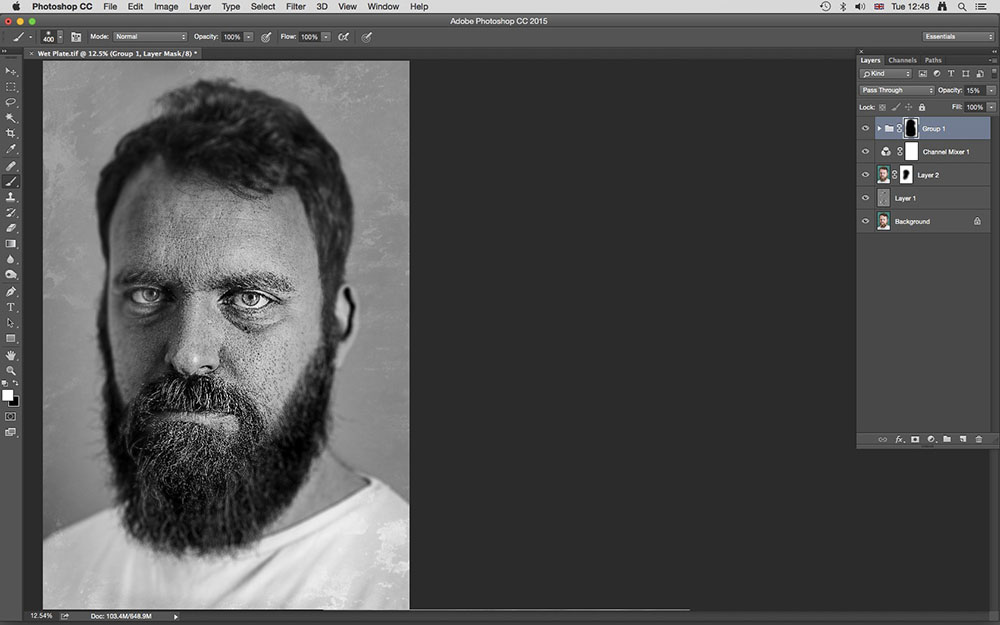 Photoshop Trick: How To Replicate A Victorian Wet Plate Portrait
