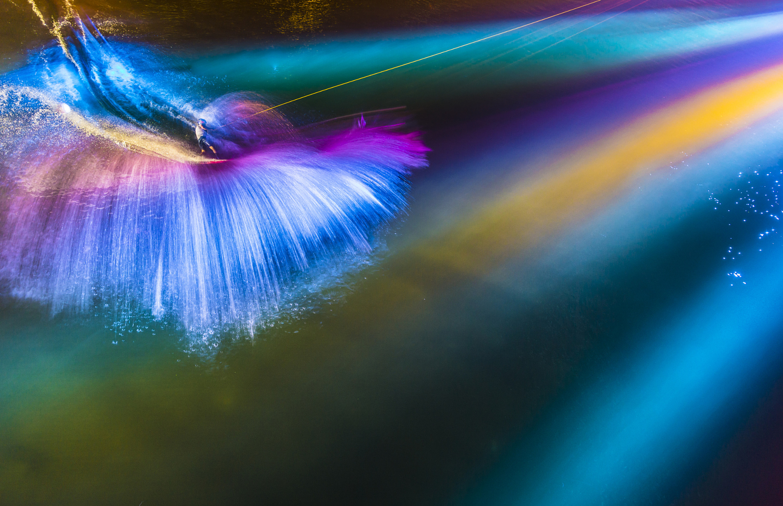 Hummingbird Or Wakeboarder? Get The Story Behind This Surreal Shot