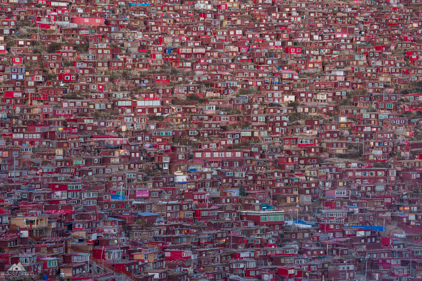I Visited The World's Largest Buddhist Settlement To Bring Back These Photos