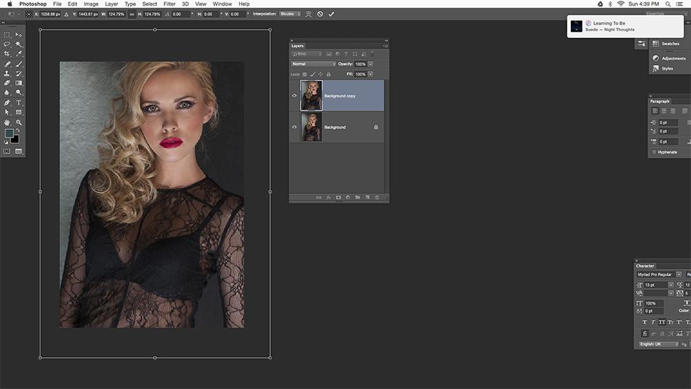 Step 2 Multiple Exposure Photoshop