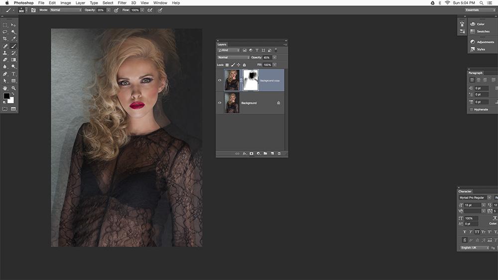 Step 4 Multiple Exposure Photoshop Tutorial