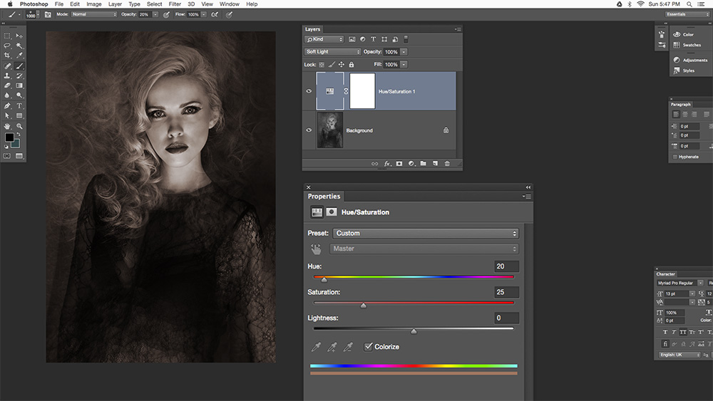Step 6 Multiple Exposure Photoshop Tutorial