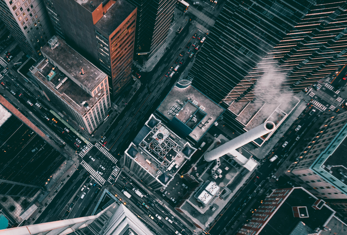 Why One Photographer Prefers to View His City From Above