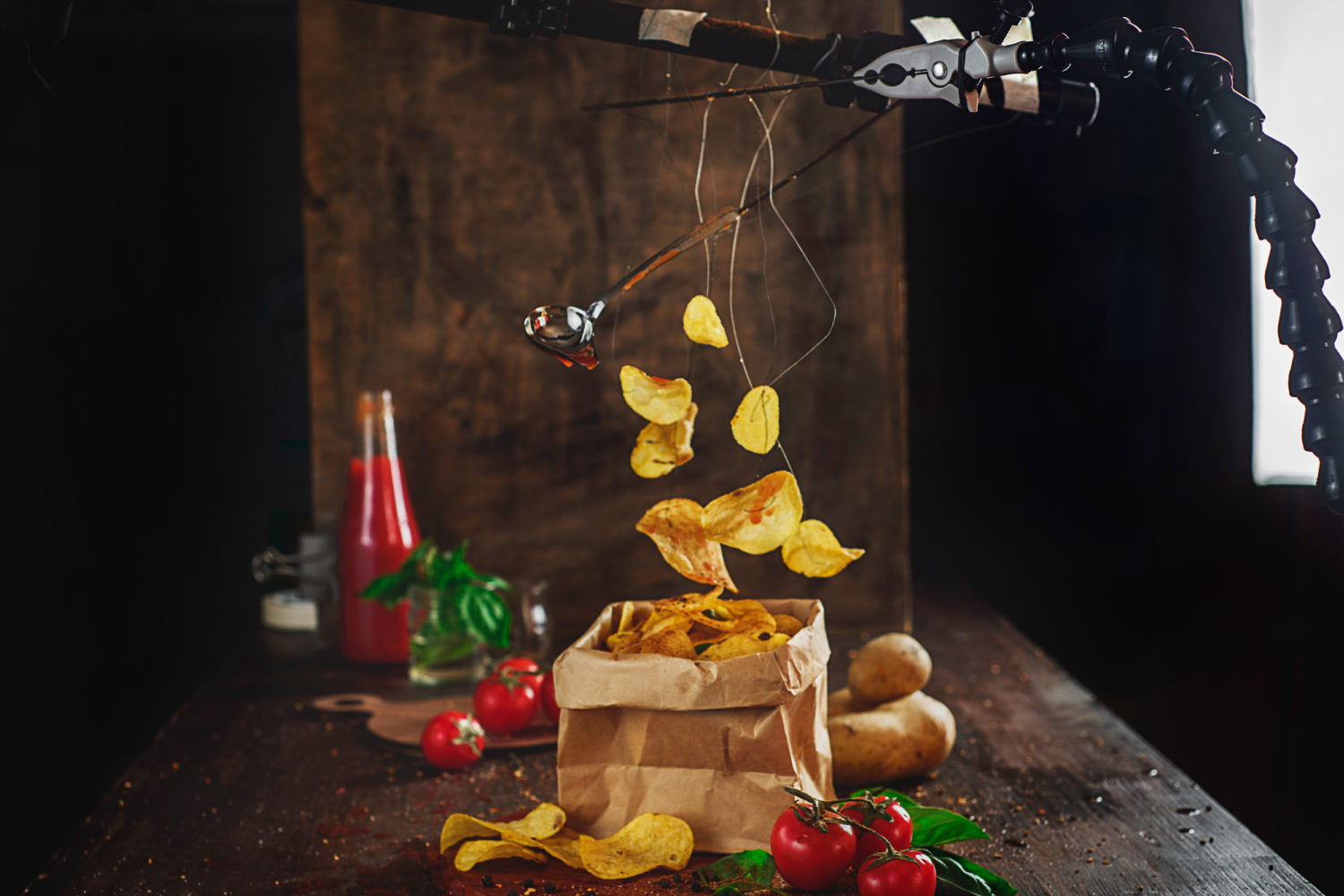 [Levitation Photography Tutorial] How To Make Food Levitate In Your Still Life Photos