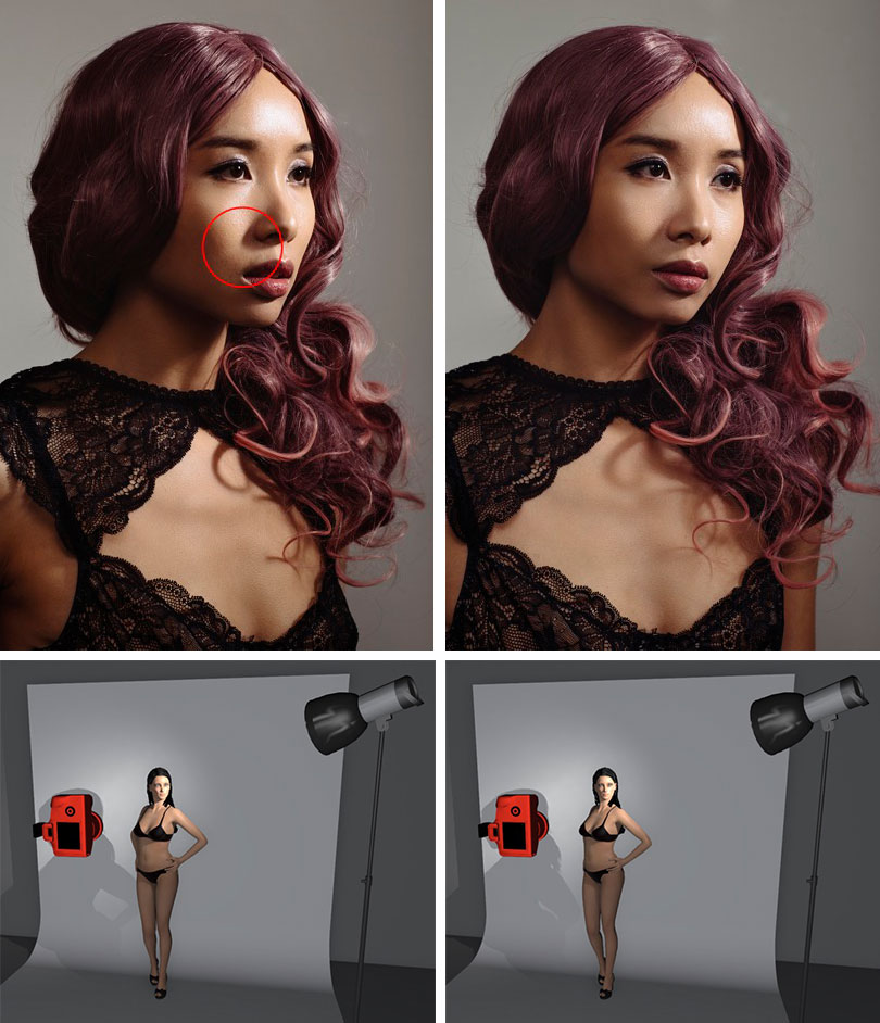 Jake Hicks - Common Lighting Mistakes in Portrait Photography - Joined Up Shadows