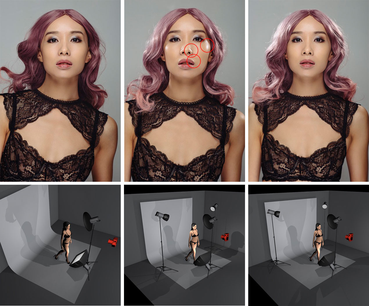 Jake Hicks - Common Lighting Mistakes in Portrait Photography - Poor Hairlight Placement