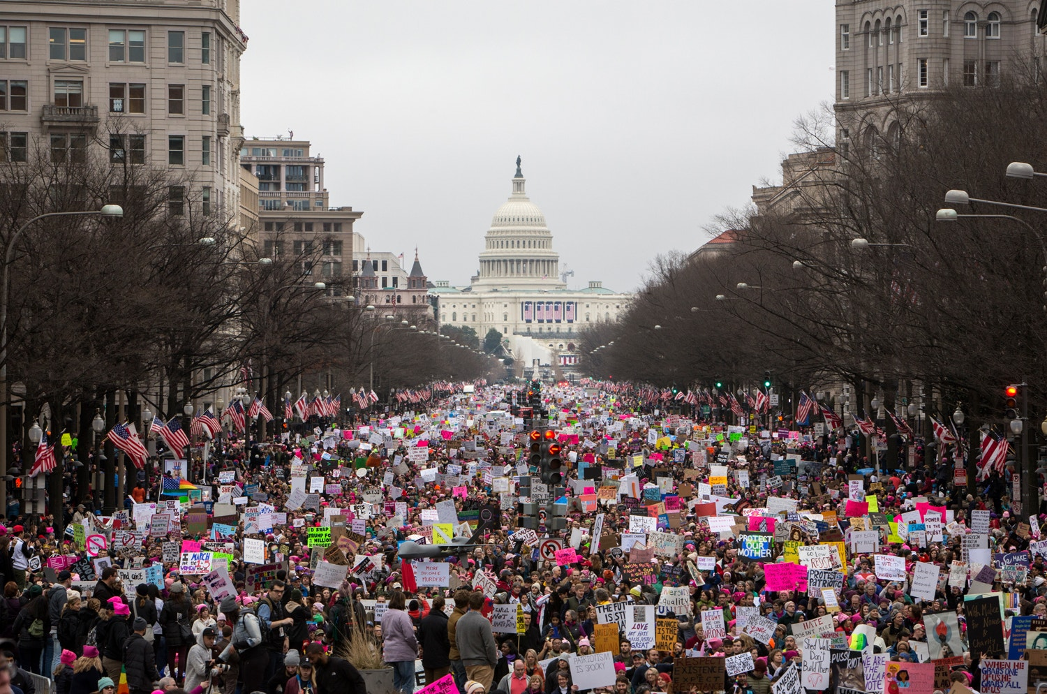 Amazing Women's March Photos From All Over the World