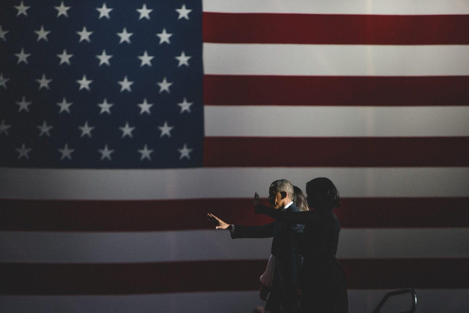 Story Behind the Shot: President Obama's Farewell Speech