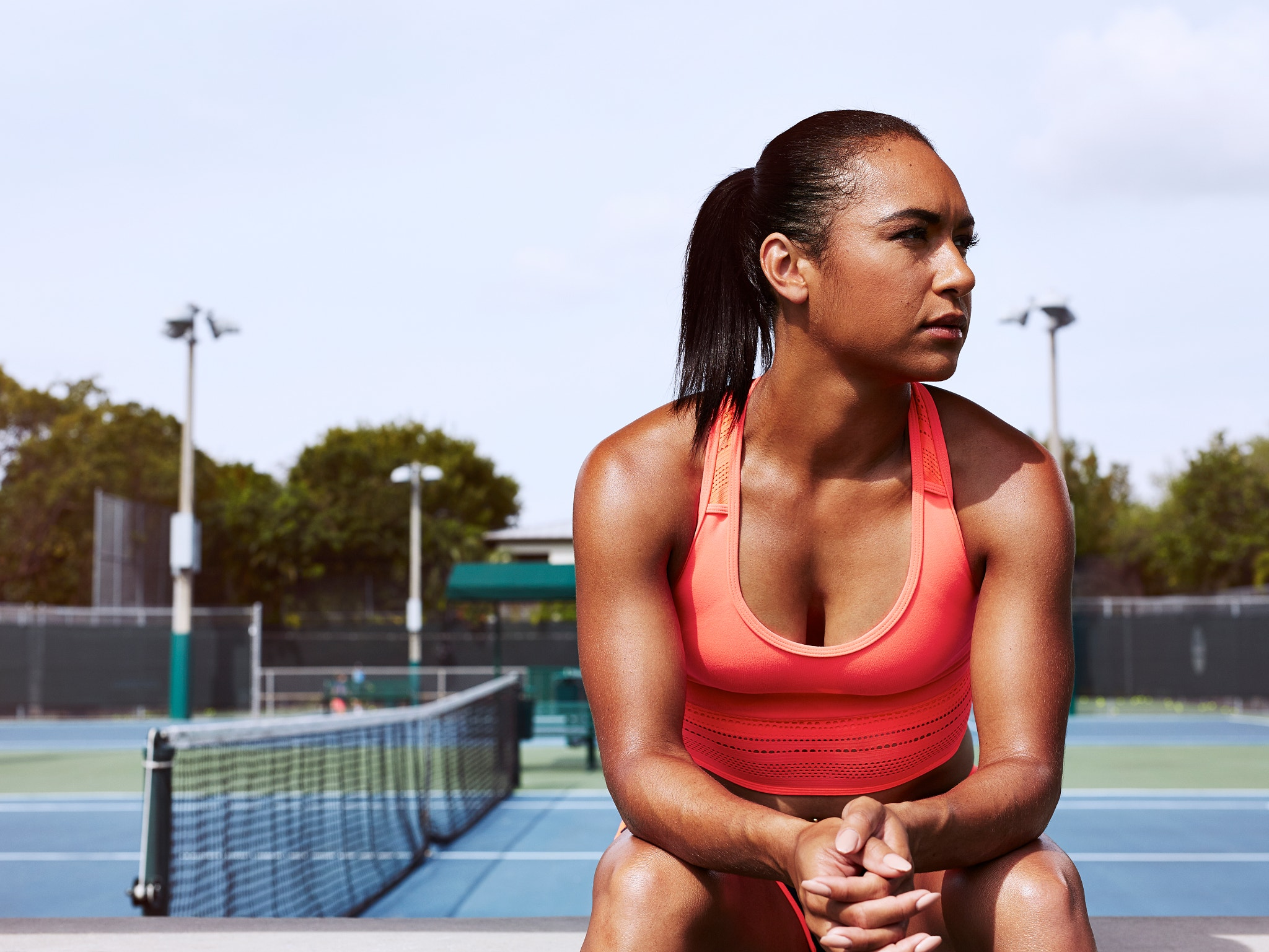 48 Hours in Miami: Photographing Pro Tennis Player Heather Watson