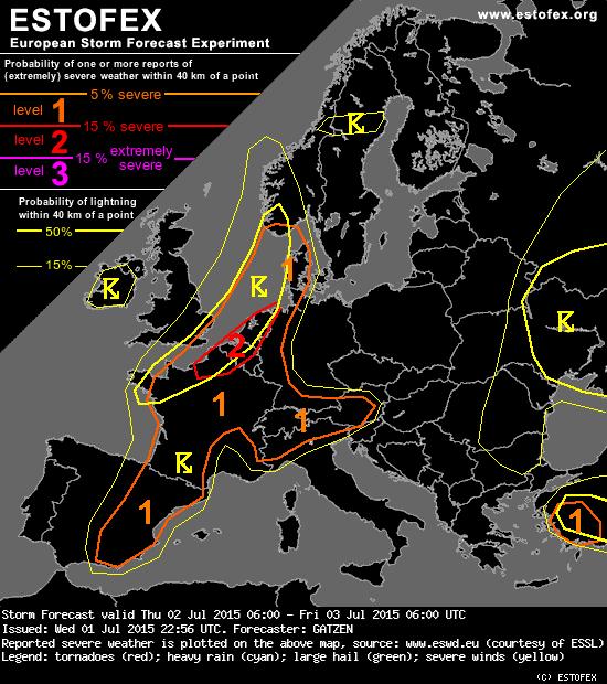 Estofex Forecast