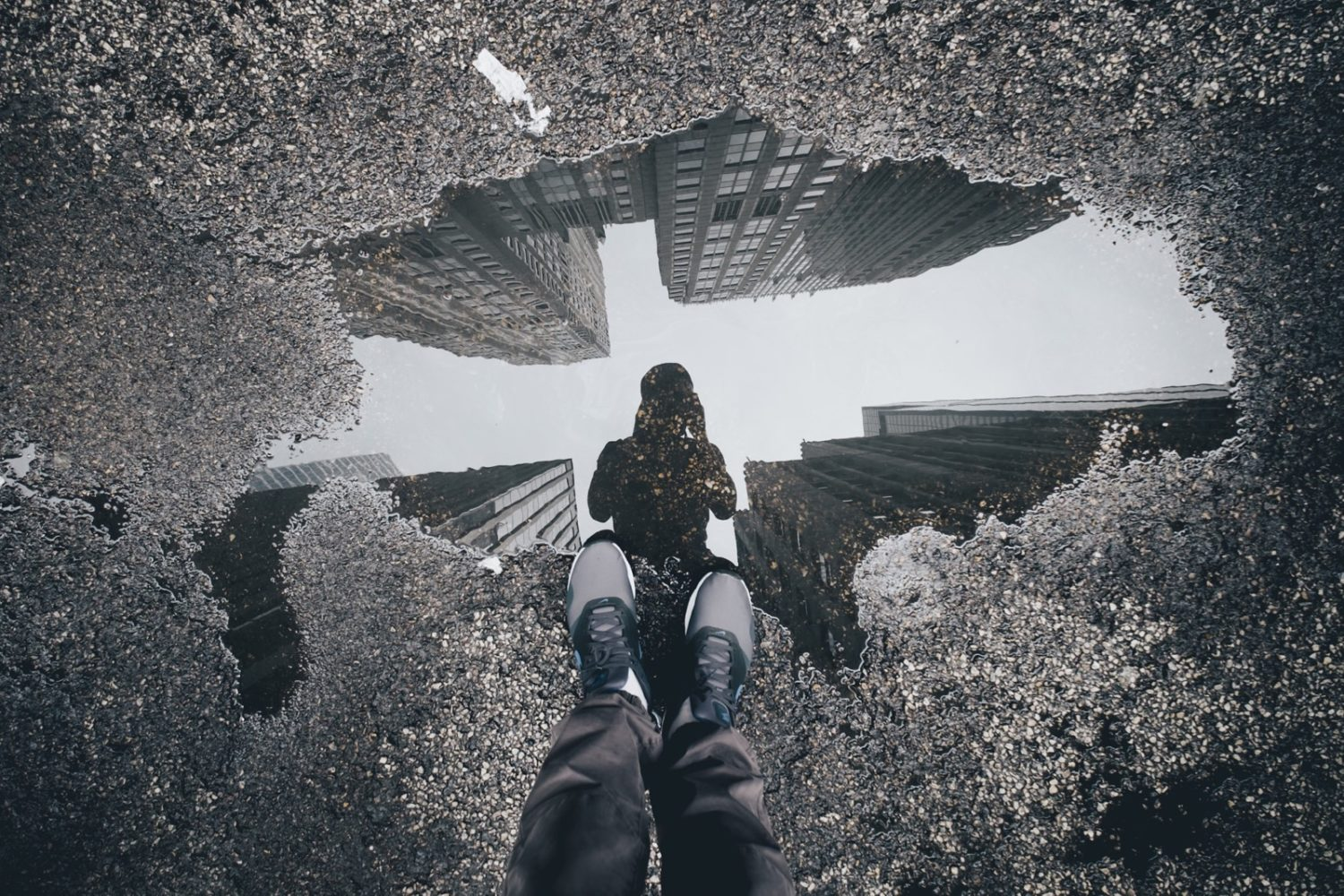 tips puddles tricks 500px epic looking reflection making skills down camera portrait rainy mind point